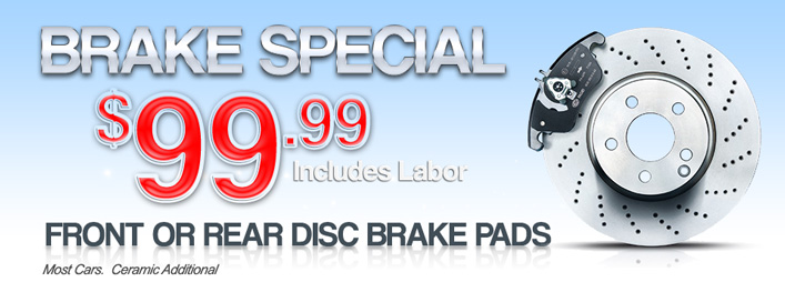 Print Coupon And Bring To Store Redeem Email 9999 Brake Special